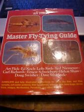 1987 BOOK ART FLICK'S MASTER FLY TYING GUIDE, COLOR PICS of FLIES, FISHING  KREH