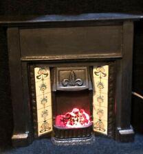 Dolls House 1/12 Lit Fireplace F705