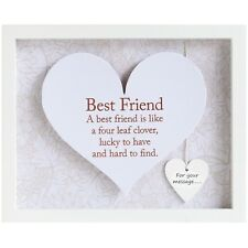 Said With Sentiment 7600 Heart Frame Best Friend
