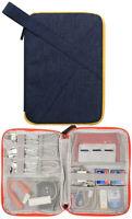 Electronics Cable Organizer Bag Lightweight Waterproof Travel  Storage Bag