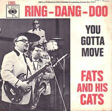 "7"" Fats And His Cats – Ring-Dang-Doo / You Gotta Move // Dutch 1966"