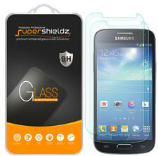 2X Supershieldz Tempered Glass Screen Protector Saver for Samsung Galaxy S4 Mini