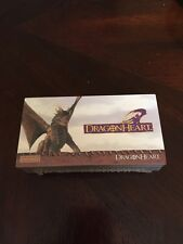 1996 Dargon Heart (topps Widevision) Complete Trading Card Set #1-72