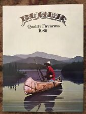 Ruger 1986 Gun Catalog New condition