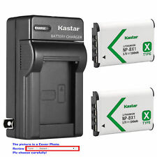 NP-BX1 Battery or Wall Charger for Sony Cyber-shot DSC-WX300 WX350 WX500 HX90V