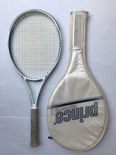 New listing Vintage Prince Graphite Fiberglass Kev. Tricomp 110 Tennis Racquet 4 1/2 Grip