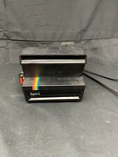 POLAROID SPIRIT 600 Land Camera Rainbow Stripe Vintage.