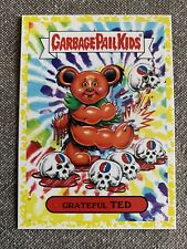"2017 Garbage Pail Kids ""Battle Of The Bands"" Grateful Ted #8a Yellow MINT"