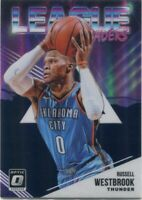 2018-19 OPTIC PRIZMS PURPLE RUSSELL WESTBROOK HOUSTON ROCKETS PARALLELS - B1444