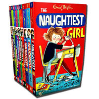 Enid Blyton The Naughtiest Girl 10 Books Set Collection New Cover