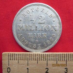Deutschland - Hamburg Bank 1/2 Millionen Mark 1923 - Notgeld - IX