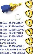 Interruptor de remitente de Temperatura para Coche Nissan Micra Maxima nota primera 2263044B10