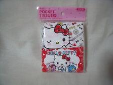 SANRIO Hello Kitty POCKET TISSUE 4packs  from Japan