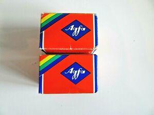 Vintage Photography Rolls of Colour Film AGFA AGFACOLOUR CT1818 DIN ASA 50 1978