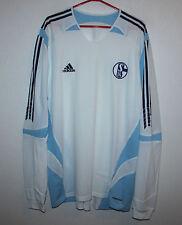 FC Schalke 04 Germany away shirt 05/07 Adidas Long Sleeves Size XXL Formotion