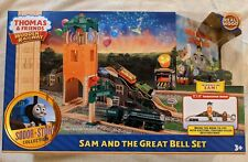 Thomas & Friends Wooden Railway Sam and the Great Bell Set Sodor Story - NEW