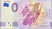 BILLET 0 EURO GP ITALY  MONZA  ITALIE  ANNIVERSARY 2021 NUMERO DIVERS