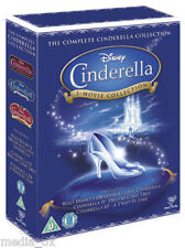 Cinderella: 1 2 & 3 Box Set | Dreams Come True + Twist in Time | Disney | DVD