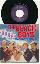 "THE BEACH BOYS 45 TOURS 7"" GERMANY BEACH BOY'S MEDLEY"