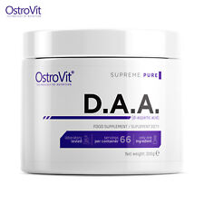 DAA 200g D-Aspartic Acid Natural Testosterone Booster Muscle Growth Bodybuilding