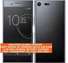 "SONY XPERIA XZ PREMIUM G8142 4gb 64gb Dual Sim 19mp Fingerprint 5.49"" Android 4g"
