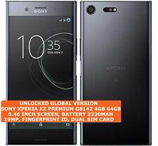 "SONY XPERIA XZ PREMIUM G8142 4gb 64gb Dual Sim 19mp Fingerprint 5.49"" Android 4g"