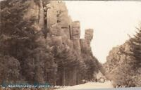 Postcard RPPC Wonderland of Rocks Arizona AZ