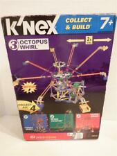Brand New K'nex Knex Collect & Build 3 Octopus Whirl 454 pcs Motor 12084/78056