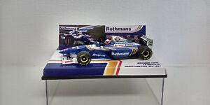 Conversion 1/43 Minichamps WILLIAMS RENAULT FW19 J P MONTOYA TEST DRIVE 1997