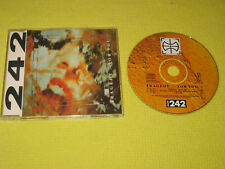 Front 242 – Tragedy ▷ For You ◁  1990 CD Single (RRE CD 10) Electronic Electro