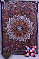 Indian Star Twin Hippie Hippy Mandala Psychedelic Wall Hanging Tapestry Throw XL