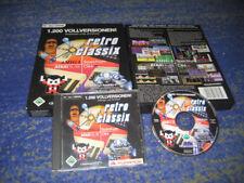 Retro Classix C 64 amiga ATARI 1200 Jeux pour PC Hot Big Box collectionneur article neuf
