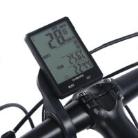 Wired Wireless Bike Bicycle Cycling LCD Computer Odometer Speedometer Accessory