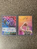 2019 Panini Hoops/Court Kings Quinndary Weatherspoon Rookie Card Auto Lot #d /99