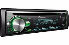 Single Din CD Receiver with USB & Aux Input CAR STEREO DASH INSTALL KIT 4