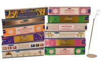 12 Pack Satya Nag Champa Genuine Incense Sticks Joss 15g Mixed Scents New Range