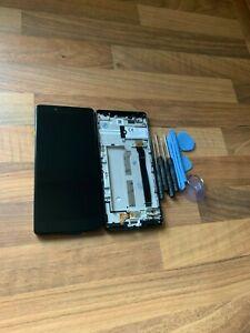 GENUINE BLACK SONY XPERIA L3 I3312 I4312 HD IPS LCD SCREEN DISPLAY FRAME