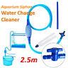 Aquarium Cleaner Vacuum Water Change Siphon Gravel Clean Fish Tank Pump Filter