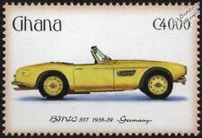 1956-1959 BMW 507 Sports Car Automobile Stamp