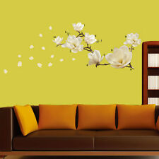 Removeable Vinyl Wall Decal Stickers Waterproof Magnolia Home Multicolor