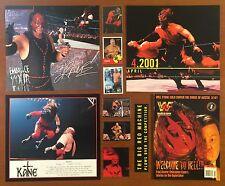 WWE Kane Lot ~ Poster Pin-Ups, Magazines, Trading Cards WWF