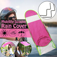 Motor Scooter Pink Umbrella Sun Shade Rain Cover motorbike Mobility Safe DIY US