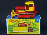 Matchbox Lesney (MB16-D2): Case Tractor with Type G Box