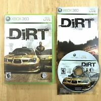 DiRT 1 Xbox 360 Complete CIB Manual Insert Tested Fast Ship