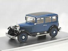 Kess Scale Models 1929 Mercedes-Benz 10/50 PS Typ Stuttgart 260 W11 blau 1:43