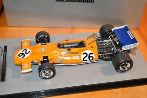 Tecnomodel 1/18 McLaren M19A 1971 GP Di Olanda #26 Denny Hulme ( LE of 110)