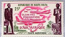 Upper Volta obervolta 1962 98 c4 Air Afrique Airline airpalne avión mnh