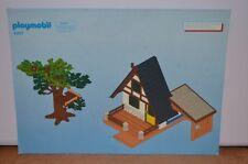 1409 playmobil bouwplan 4207 boswachtershuis