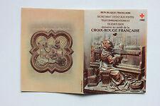 CARNET DE 8 TIMBRES - EMISSION AU PROFIT DE LA CROIX-ROUGE FRANCAISE - 1980
