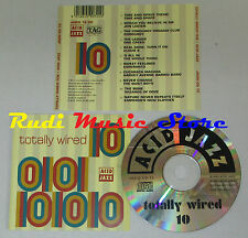CD TOTALLY WIRED TEN 10 Acid jazz 1993 JAZID CD 72 mc lp dvd vhs (C12*)